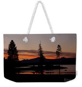 Sunset At Lake Almanor 02 Weekender Tote Bag