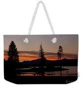 Sunset At Lake Almanor 02 Weekender Tote Bag