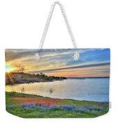 Sunset At Lake Buchanan Weekender Tote Bag