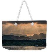 Sunset At Lake District Weekender Tote Bag