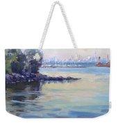 Sunset At Lake Ontario  Weekender Tote Bag
