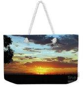 Sunset At Little River Victoria Weekender Tote Bag
