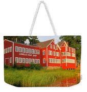Sunset At Lowell's Boat Shop Weekender Tote Bag