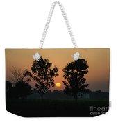 Sunset At Lumbini Weekender Tote Bag