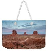 Sunset At Monument Valley No.1 Weekender Tote Bag