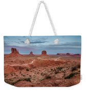 Sunset At Monument Valley No.2 Weekender Tote Bag