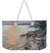 Sunset At Niagara River Weekender Tote Bag