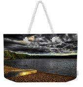 Sunset At Nicks Lake Weekender Tote Bag