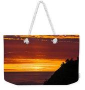 Sunset At Oswald West Weekender Tote Bag