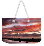 Sunset At Pass A Grille Florida Weekender Tote Bag