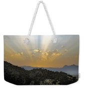 Sunset At Pastelero Near Villanueva De La Concepcion Andalucia Spain Weekender Tote Bag