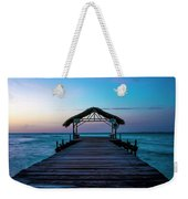 Sunset At Pigeon Point Weekender Tote Bag by Rachel Lee Young