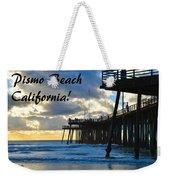 Sunset At Pismo Beach California Weekender Tote Bag
