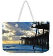 Sunset At Pismo Pier Weekender Tote Bag