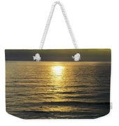 Sunset At Praia Pequena, Small Beach In Sintra Portugal Weekender Tote Bag