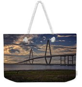 Sunset At Ravenel Bridge Weekender Tote Bag