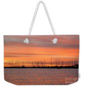 Sunset At Rock Hall, Md Weekender Tote Bag