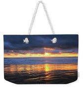 Sunset At Salt Creek Weekender Tote Bag