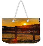 Sunset At Scartaglen Ireland Weekender Tote Bag