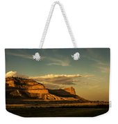 Sunset At Scotts Bluff National Monument Weekender Tote Bag