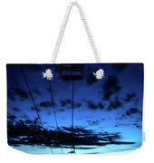 Sunset At Smugglers' Notch, Vermont - Portrait Weekender Tote Bag