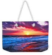 Sunset At Strands Beach Weekender Tote Bag