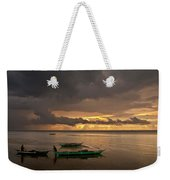 Sunset At Tabuena Beach 1 Weekender Tote Bag