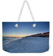 Sunset At The Beach In Florida Weekender Tote Bag