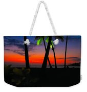 Sunset At The Big Island Of Hawaii Weekender Tote Bag