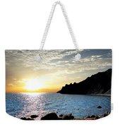 Sunset At The Black Sea Coast. Crimea Weekender Tote Bag