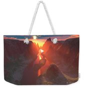 Sunset At The Canyon Weekender Tote Bag