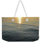 Sunset At The Dock  Weekender Tote Bag