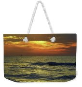 Sunset At The Gulf Weekender Tote Bag