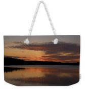 Sunset At The Gulf Of Bothnia 4 Weekender Tote Bag