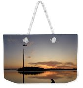 Sunset At The Gulf Of Bothnia  Weekender Tote Bag