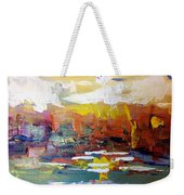 Sunset At The Lake Weekender Tote Bag