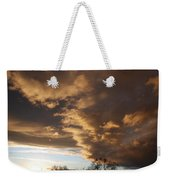 Sunset At The New Mexico State Capital Weekender Tote Bag