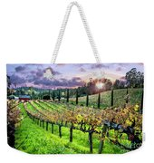 Sunset At The Palmers Weekender Tote Bag