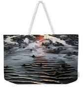Sunset At The West Shore Llandudno Weekender Tote Bag