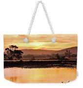 Sunset At Triabunna Tasmania Weekender Tote Bag
