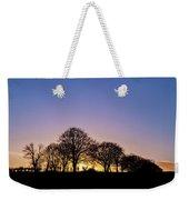 Sunset At Turlough Weekender Tote Bag