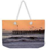 Sunset At Ventura Pier Weekender Tote Bag