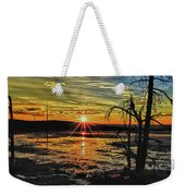 Sunset At Yellowstone Weekender Tote Bag