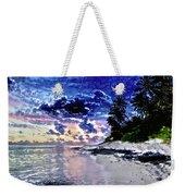 Sunset Beach Park Weekender Tote Bag