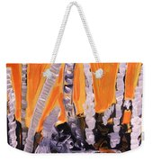 Sunset Birches Weekender Tote Bag