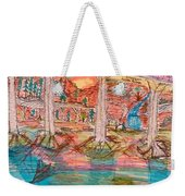Sunset Bridge Weekender Tote Bag