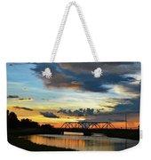 Sunset Bridge Weekender Tote Bag
