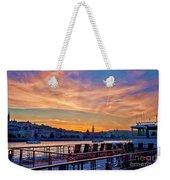 Sunset Budapest Weekender Tote Bag