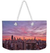 Sunset Burn Weekender Tote Bag
