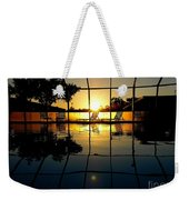 Sunset By The Pool Weekender Tote Bag